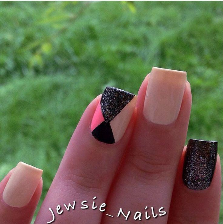 Mejores 58 imágenes de Nails en Pinterest | Uñas bonitas, Uñas con ...
