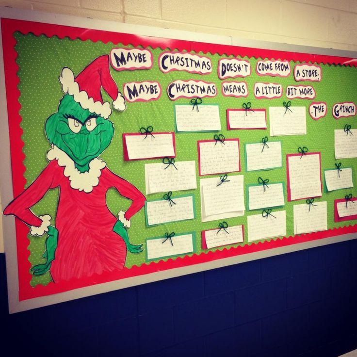 December bulletin board thirdgradethrills3.blogspot.com