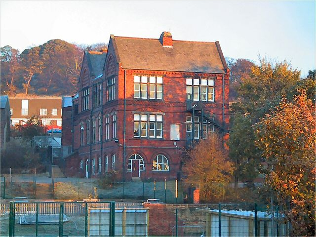Lower Wortley school, Leeds, West Yorkshire.  Built 1882, closed 1960's, now apartments.