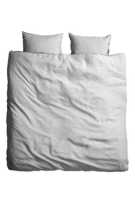 best 25 housse de couette lin ideas on pinterest. Black Bedroom Furniture Sets. Home Design Ideas