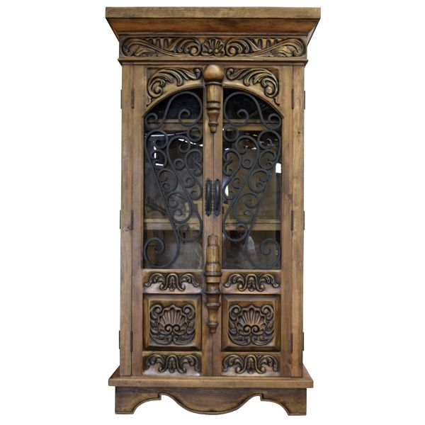 Spanish colonial armoires martina 3 arm11b armoires for Armoire chambre style colonial