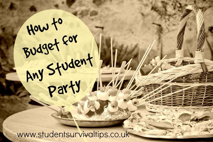 How do you plan for a student party? How do you throw one with your tight student budget? Here's a look at all the tips you need to throw an epic party on a small budget.