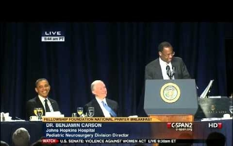 Neurosurgeon Ben Carson's Politically Incorrect Speech at Prayer Breakfast a YouTube Sensation