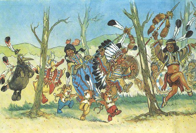 Praatplaat indianen