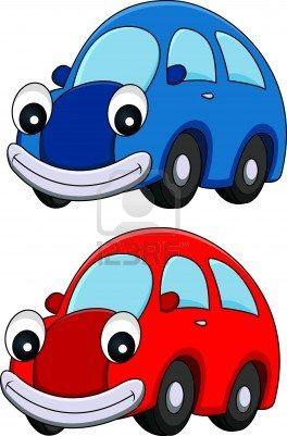 illustratie van beeldverhaal van de auto Stockfoto - 14320756
