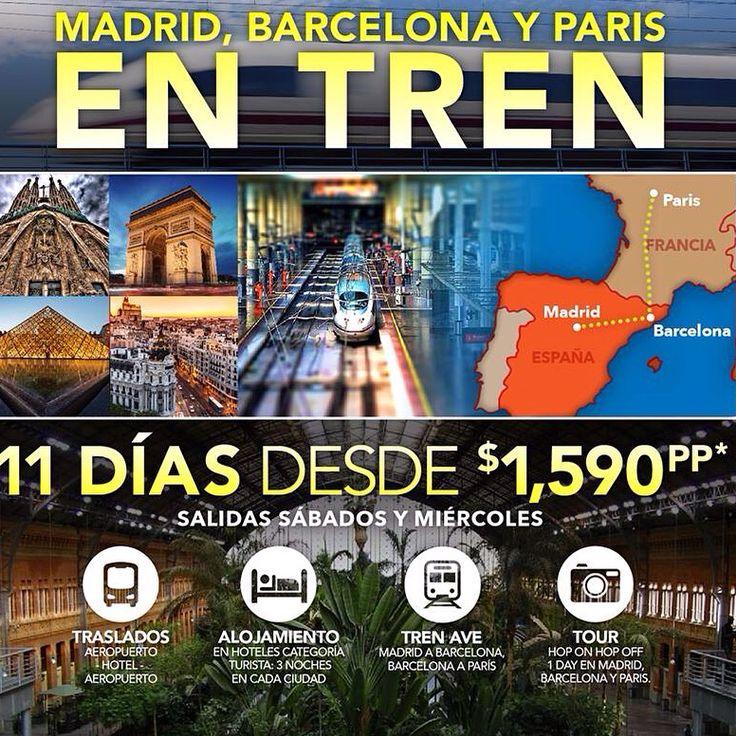 38 best viajes a tu alcance images on pinterest viajes for Tour de barcelona a paris
