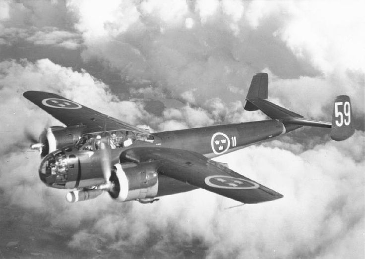 SAAB 18 (1942) was a twin-engine bomber and reconnaissance aircraft, designed and built for use by the Swedish Air Force by Svenska Aeroplan AB (SAAB) in response to a 1938 design competition. Due to delays, it did not enter service until 1944
