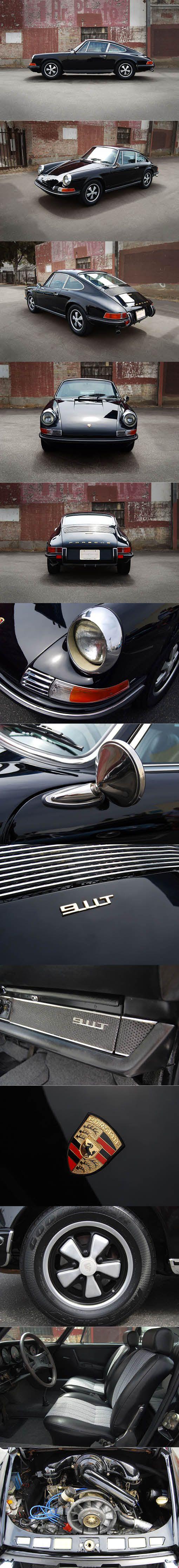 1971 Porsche 911 T / Germany / black ...repinned für Gewinner!  - jetzt gratis Erfolgsratgeber sichern www.ratsucher.de
