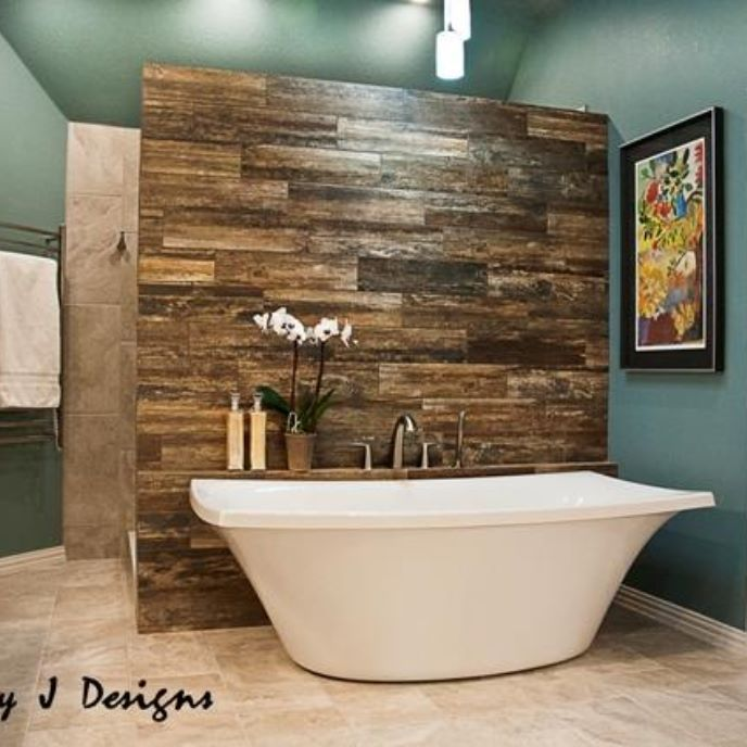 Spa Look Bathrooms: 1000+ Ideas About Wood Grain Tile On Pinterest