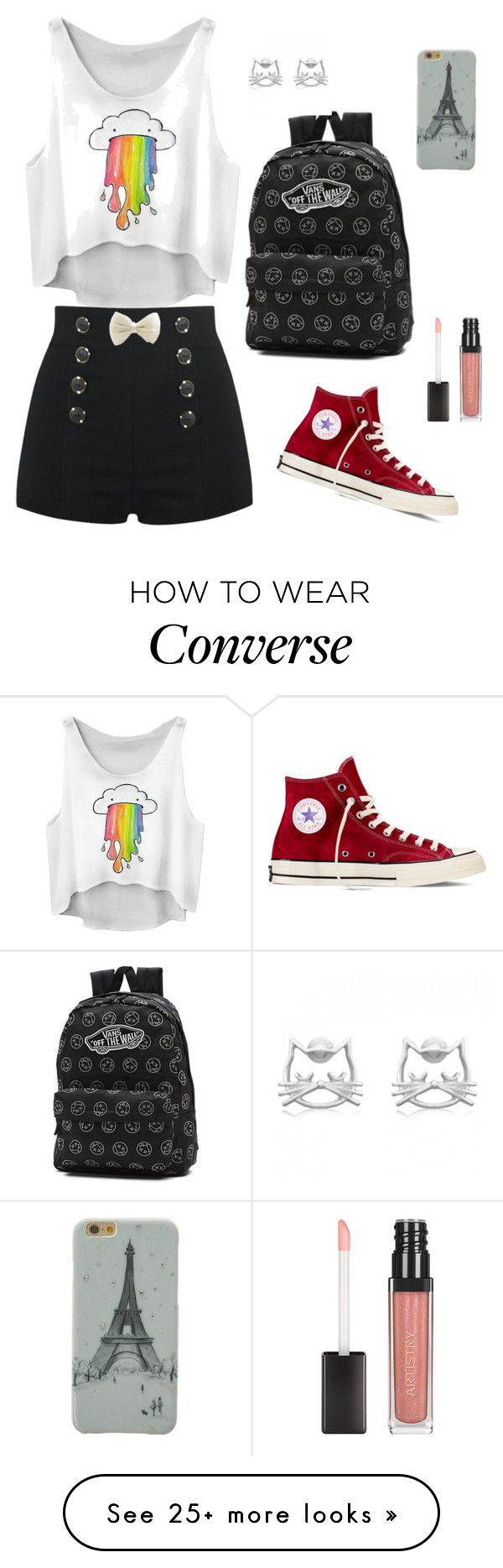 """""""⭐⭐⭐⭐⭐"""" by sabanovicelma on Polyvore featuring Converse and Vans"""