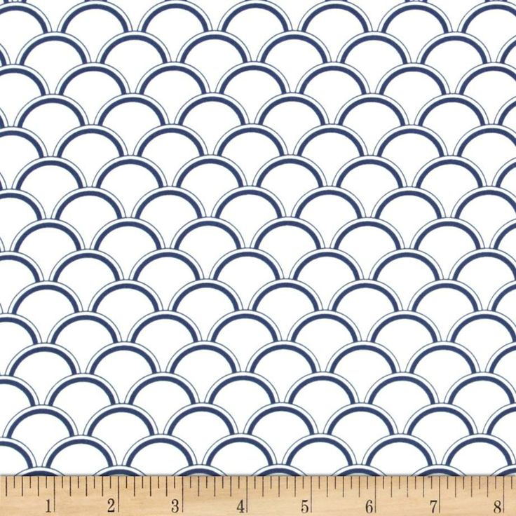 Michael Miller Bekko Home Decor Bekko Navy | Sewing