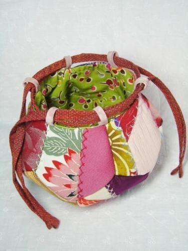 bag from kimono scraps