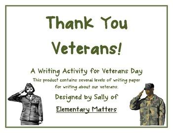 Essays on veterans
