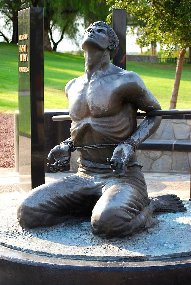 POW/MIA Statue.  Riverside National Cemetery, CA.