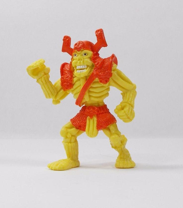 Monster Ninja Warriors In My Pocket - 4 Skeleton Samurai - Mini Figure