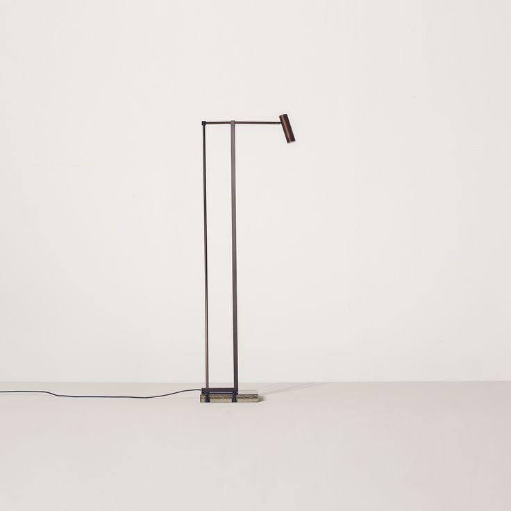 NAAS floor lamp by Bruno Moinard