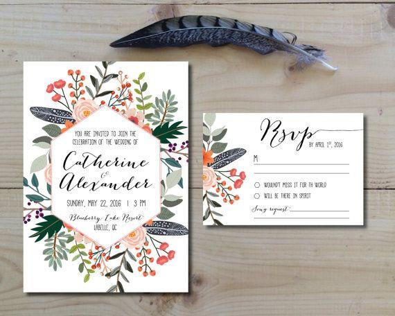 Best 25+ Invitation set ideas on Pinterest   Wedding ...