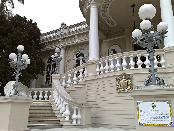 Rioja Palace, Viña del Mar, Chile.