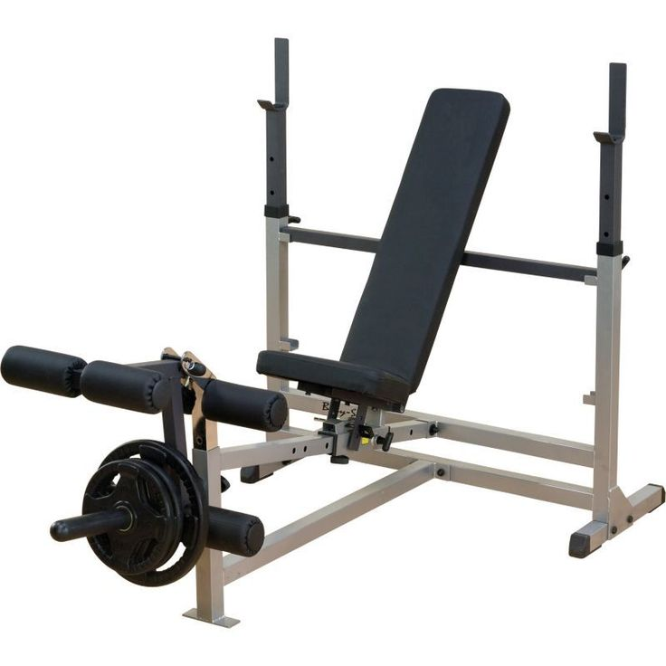 Body Solid Gdib46l Olympic Weight Bench With Leg Developer Weight Benches Olympic Weights