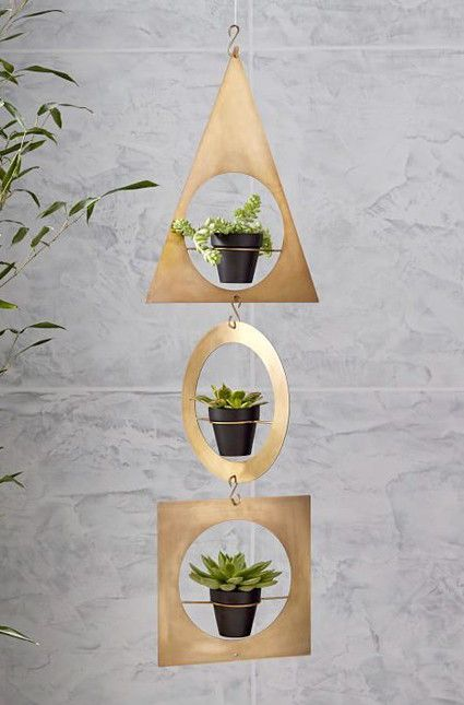 15 Metallic Planters To Add Some Sparkle To Your Indoor Garden
