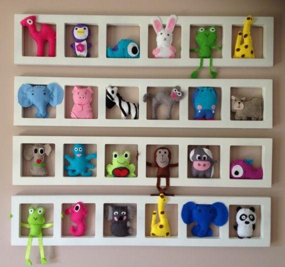 Décoration chambre enfant et bébé unique et origniale - animaux colore