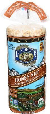 Rice Cakes 179184: Lundberg Rice Cake,Og2,Honey Nut 9.6 Oz (Pack Of 12) -> BUY IT NOW ONLY: $44.76 on eBay!