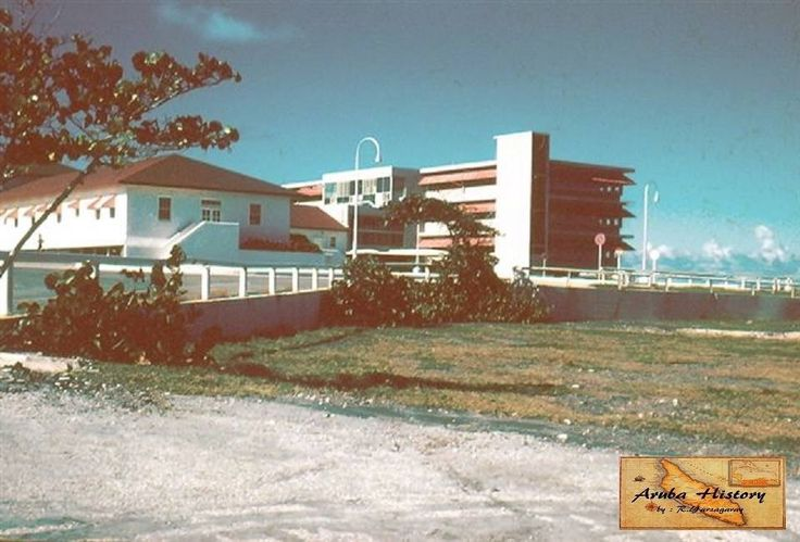 Lago Hospital, Lago Colony (1958 changed to Seroe Colorado)