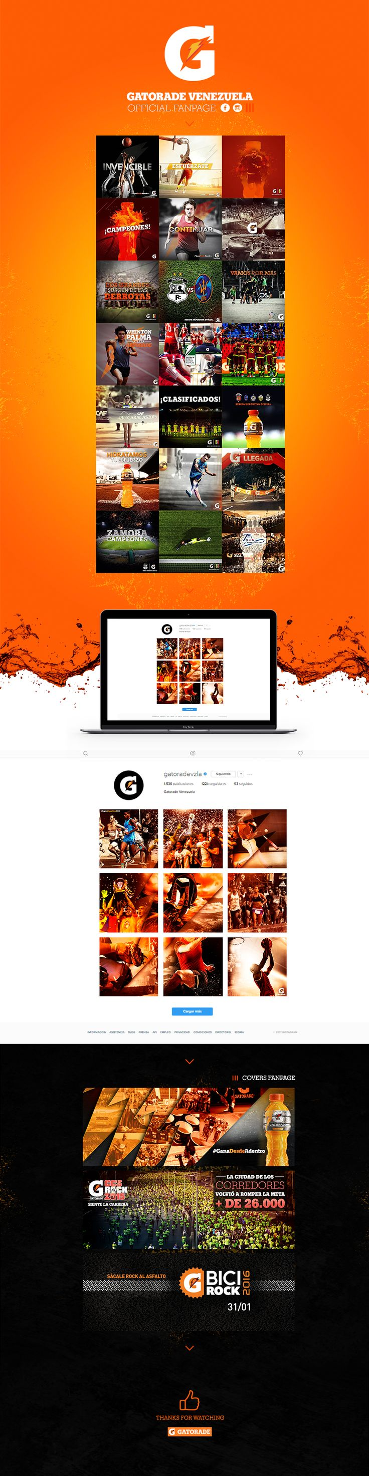 Confira este projeto do @Behance: u201cGatorade Venezuela - Mashup Interactive Agencyu201d https://www.behance.net/gallery/48957725/Gatorade-Venezuela-Mashup-Interactive-Agency