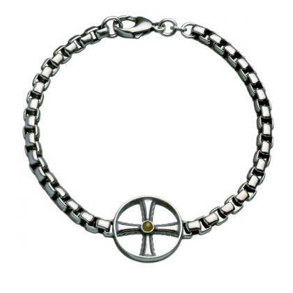 Kalevala Koru / Kalevala Jewelry / VÄINÖ BRACELET / Designer: Tony Granholm Material: silver
