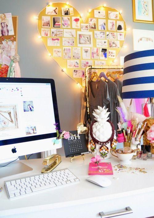 BeyazBegonvil I Kendin Yap I Alışveriş IHobi I Dekorasyon I Kozmetik I Moda blogu: Dekorasyon I Çalışma Masalarınız Nasıl Olmalı ?