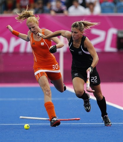 Netherlands advance to gold medal match - Field Hockey Slideshows (Photo: Eranga Jayawardena / Associated Press) #NBCOlympics