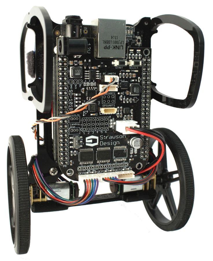 BeagleBone Black project spotlight: Robotics Cape by Strawson Design