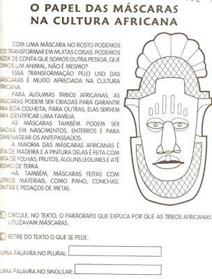 ESPAÇO EDUCAR: Algumas atividades para o Dia da Consciência Negra                                                                                                                                                                                 Mais