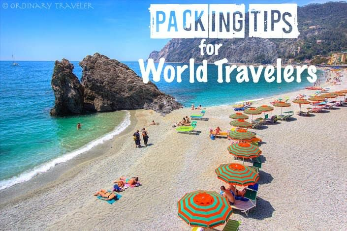 The ultimate packing list for world travelers who want to keep their bag weight to a minimum, while still bringing the necessities.