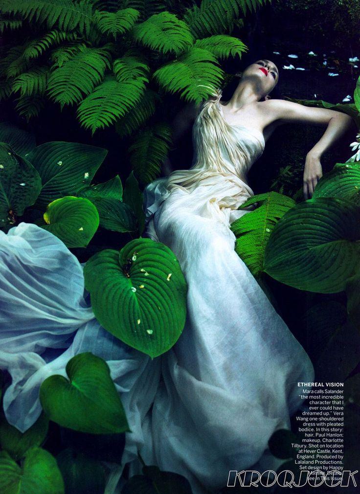 Rooney Mara for Vogue.