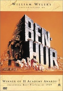 Ben Hur--excellent movie--made over 50 years ago but still interesting to watch today