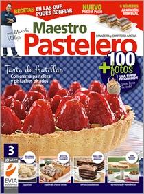 #Maestro #Pastelero 3. Les recomiendo especialmente la Torta de frutillas con crema pastelera y pistachos picados. $10.90