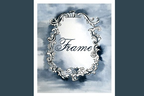 Vintage classical frame ~ Illustrations on Creative Market