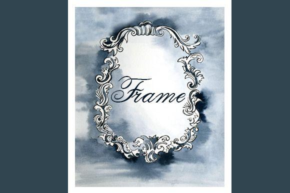 Vintage classical frame ~ Illustrations on Creative Market