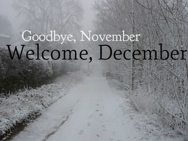 Goodbye November Welcome December quotes quote december december quotes hello december hello december quotes goodbye november