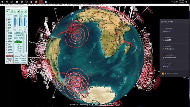 5/07/2017 -- Nightly Earthquake Update + Forecast -- Deep earthquake eve...