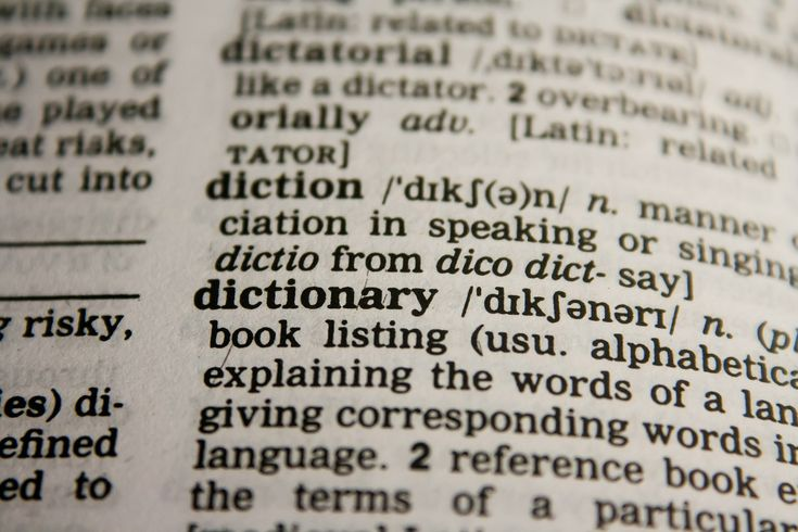 Why are all these words changing?  Find out why definitions change as time goes by.
