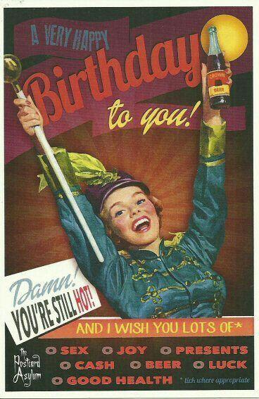 Funny Birthday Memes For Older Women : Best birthdays images on pinterest vintage greeting