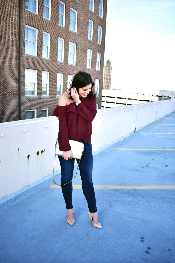 Roz Off The Shoulder Top - How to wear an off the shoulder top for date night
