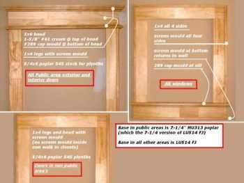 Craftsman Windows · Window CasingWindow TrimsCraftsman WindowsCraftsman StyleInterior  TrimWoodworkRemodelingFarmhouseConstruction