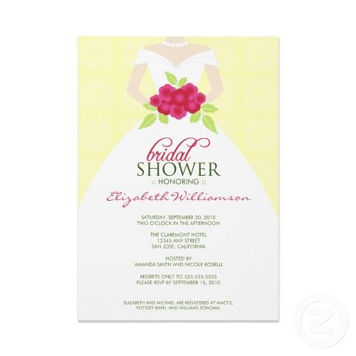 27 best bridal shower invitations images on pinterest bachelorette bridal shower invitations sample bridal shower invitations wording stopboris Image collections