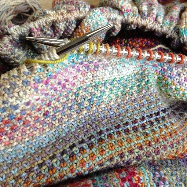 Knitting Garter Stitch Right Side : Best knitting slip stitch images on pinterest garter