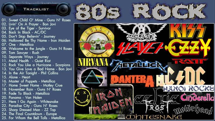 awesome Hit Music Videos - Best of 80s Rock - 80s Rock Music Hits - Greatest 80s Rock songs