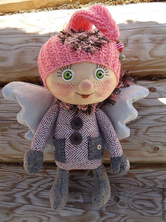 Купить Ангелочки - Новый год, ангел, рождество, крылышки, бубенчики, авторская ручная работа