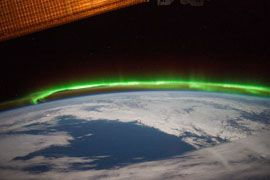 High Definition video of Aurora Borealis from Canada to Central U.S.